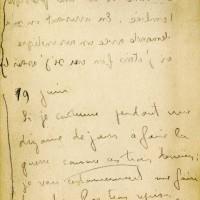 Carnet de Jean Chaput 19-06-1916 page1